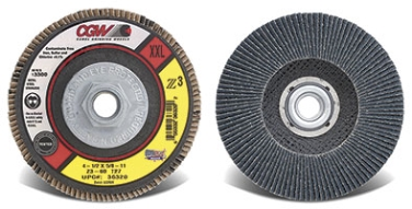 Z3(R) Double/XXL USA Made Flap Discs