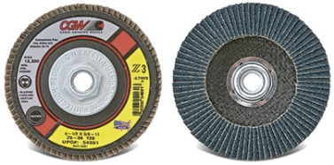 Z3(R) Ultimate USA Made Flap Discs